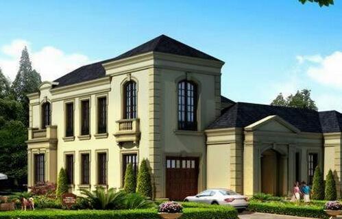 二期法式独栋别墅,地上面积约450平方米,地下面积约 230-300平方米,主图片